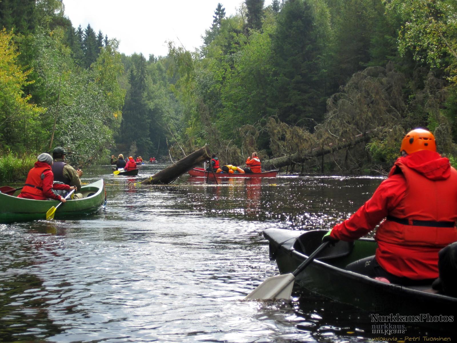 Paddling at Vääräjoki