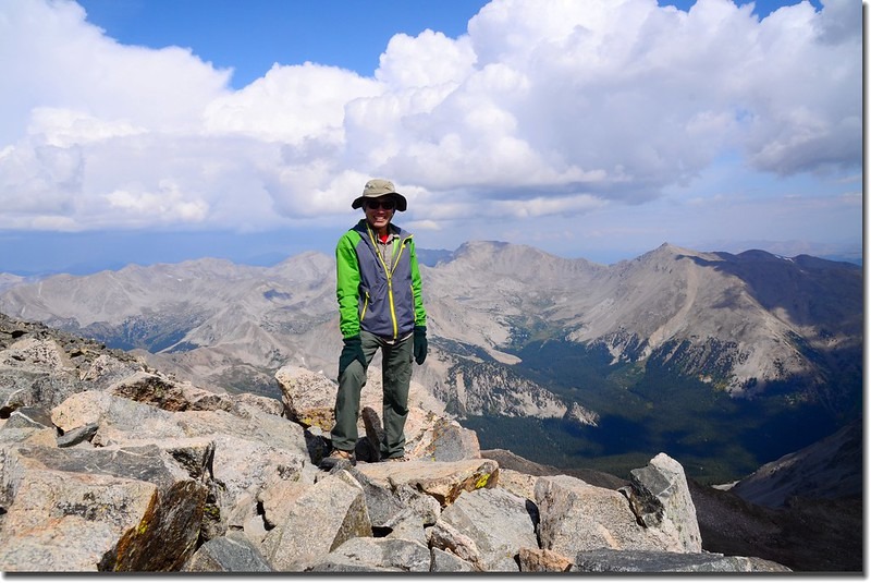 Taken from the summit of Mount Yale 3
