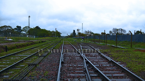 Beyond the Pilar station, towards Manzanares and Dr. Cabred - San Martin Line