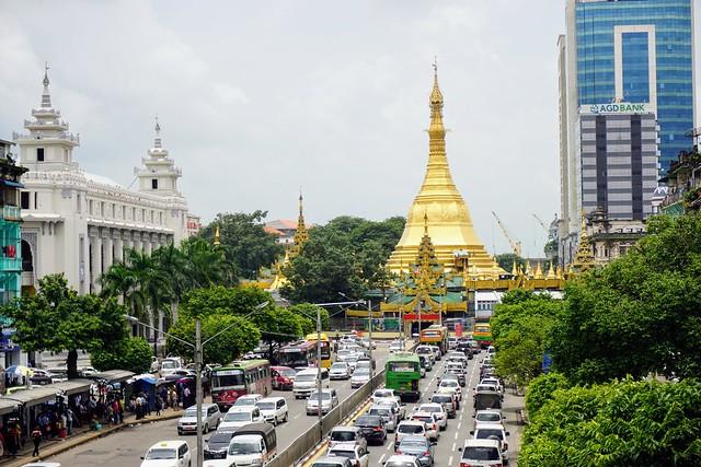 Sule Pagoda - Myanmar