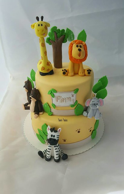 Jungle Cake by Tuba's Torten