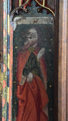 rood screen: prophet
