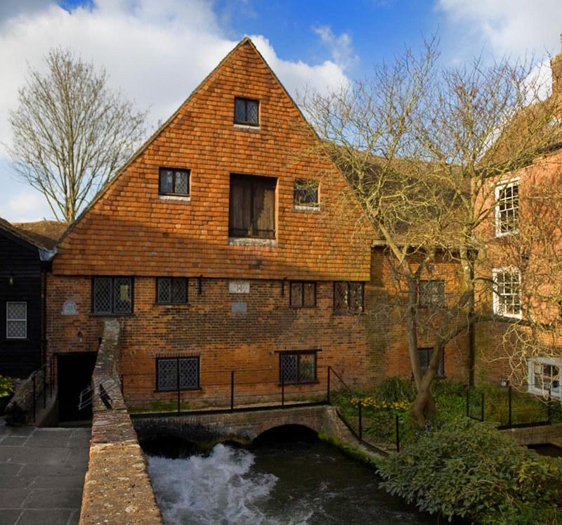 Water Mill, Winchester. Credit Johan Bakker