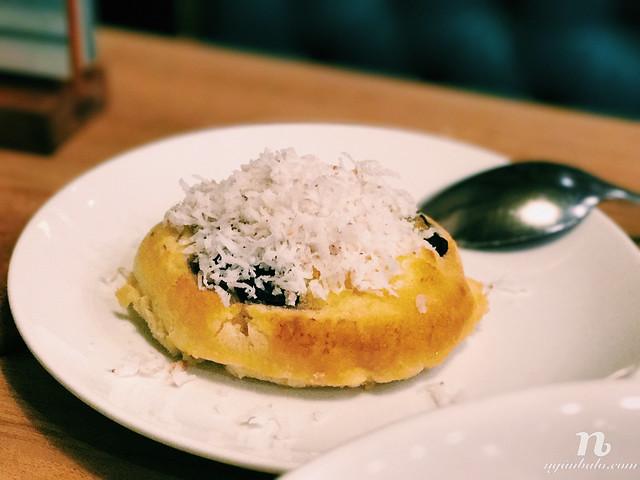 Ăn gì ở Philippines - Món khoai mỡ Bibingka Ube