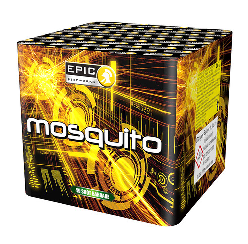 Mosquito 49 Shot 13G Single Ignition Barrage #EpicFireworks