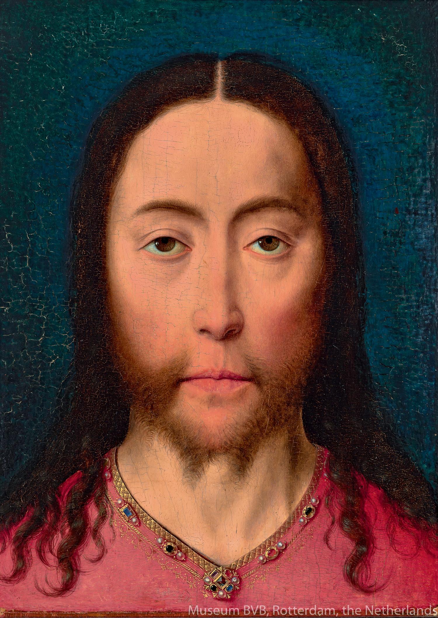 ディーリク・バウツ《キリストの頭部》(1470年頃)