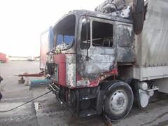 Вчера в Витебске горел гараж