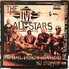 THE JIVE ALL STARS:NO STOPPIN'(JACKET A)