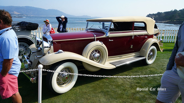 1932 Studebaker President Series 91 Convertible Sedan