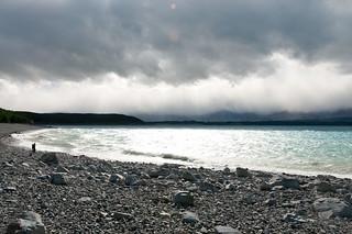 Stormy Lake Pukaki
