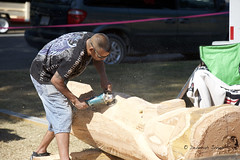 World Class Chainsaw Carving Competition, Hope August 2017