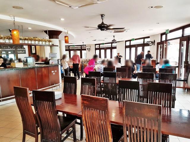 Gurame Indonesian Restaurant Interior