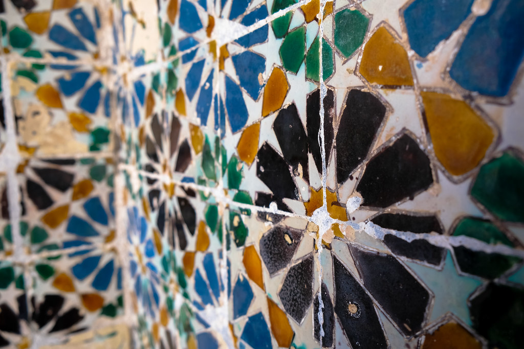 Tile Detail from National Palace of Sintra
