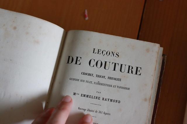 Manuel de couture ancien