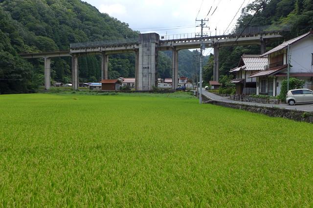 JR三江線−宇津井駅−