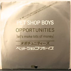 PET SHOP BOYS:OPPORTUNITIES(JACKET A)
