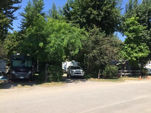Peachland Todd's RV campsite