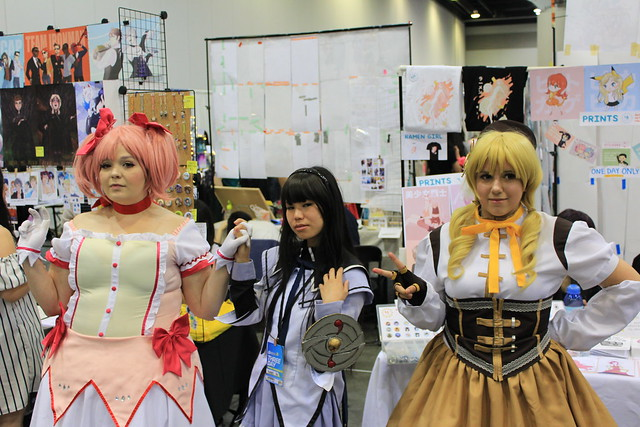 Madoka, Homura, and Mami, Canon EOS REBEL T3I, Canon EF-S 18-55mm f/3.5-5.6 IS II