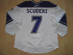 #7 Rob SCUDERI Game Worn Jersey