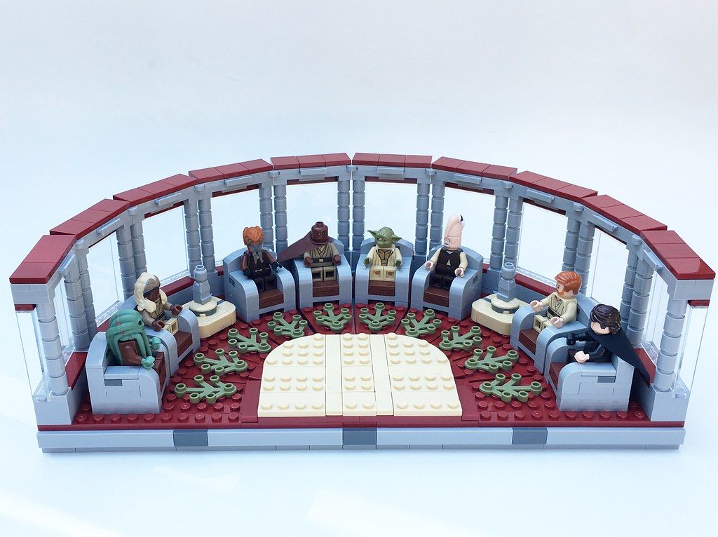 [MOC] Jedi High Council completed!