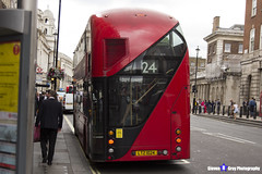 Wrightbus NRM NBFL - LTZ 1024 - LT24 - Pimlico 24 - Metroline - London 2017 - Steven Gray - IMG_0803