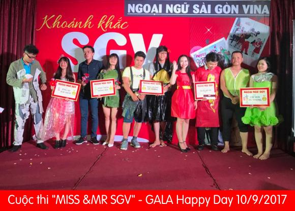 Happy Day 10/9/2017 - Ngoại Ngữ SGV