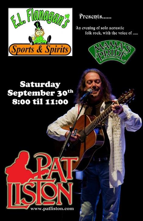 Pat Liston 9-30-17