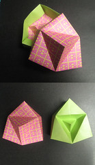 Pyramid Box Lid and Box Independently Discovered by Me