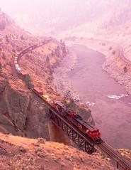 CN 2429 ~ Thompson River Canyon