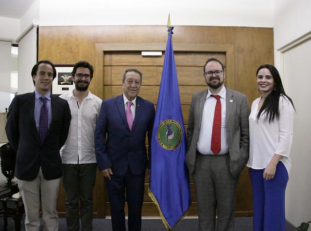 Secretario General del SICA se reúne con delegación de la UNESCO
