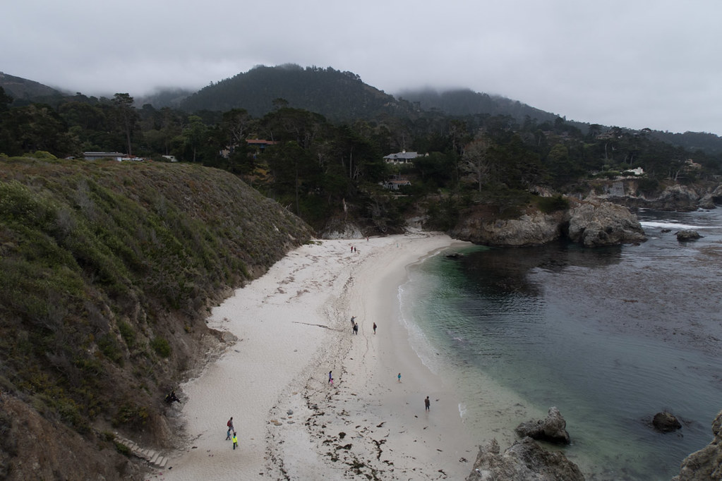 Other beaches along Bird Island Trail at Point Lobos State Reserve