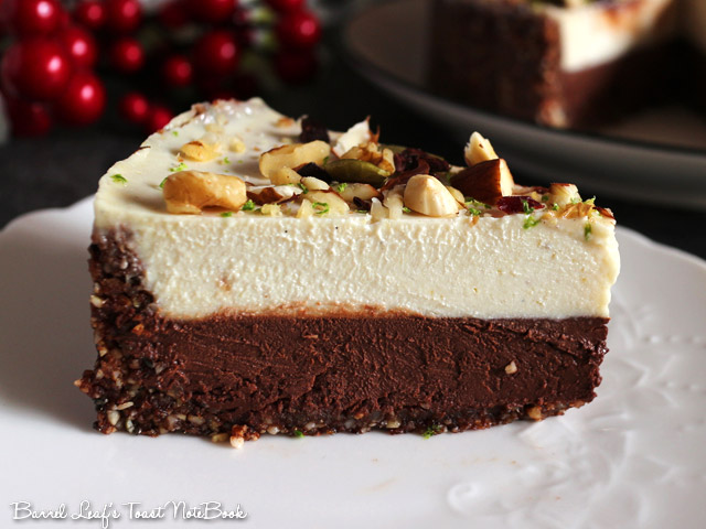全素雙層黑白巧克力榛果派 vegan-double-chocolate-hazelnut-layered-pie (12)