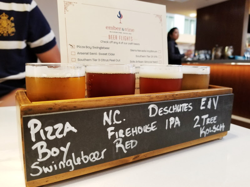 doubletree-hilton-ember-and-vine-beer-flights-1