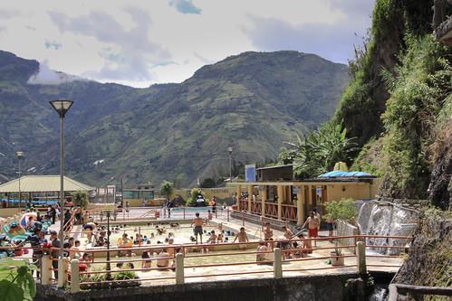 people ecuador hotsprings landscape thermalbath mountain baños banos tungurahua ec