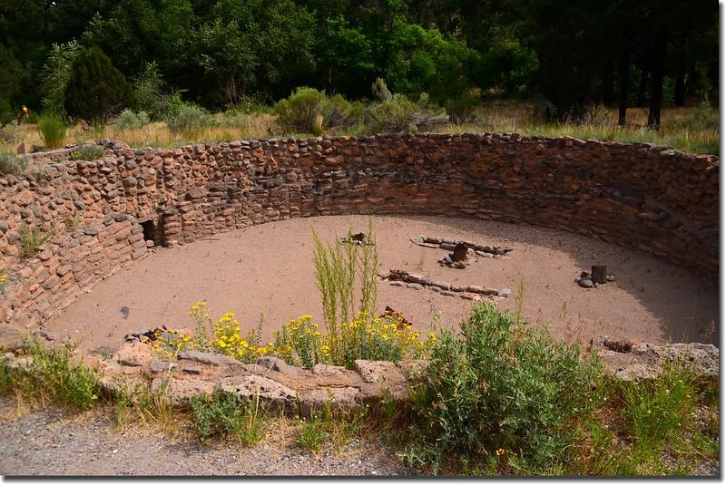 Kiva at Bandelier National Monument 2