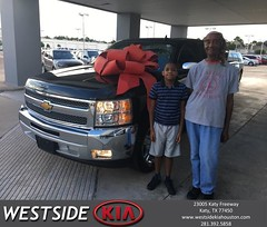 #HappyBirthday to Grace from Rick Hall at Westside Kia!