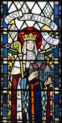 St Etheldreda of Ely (Joseph Nuttgens, 1946)