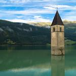 Church in lake