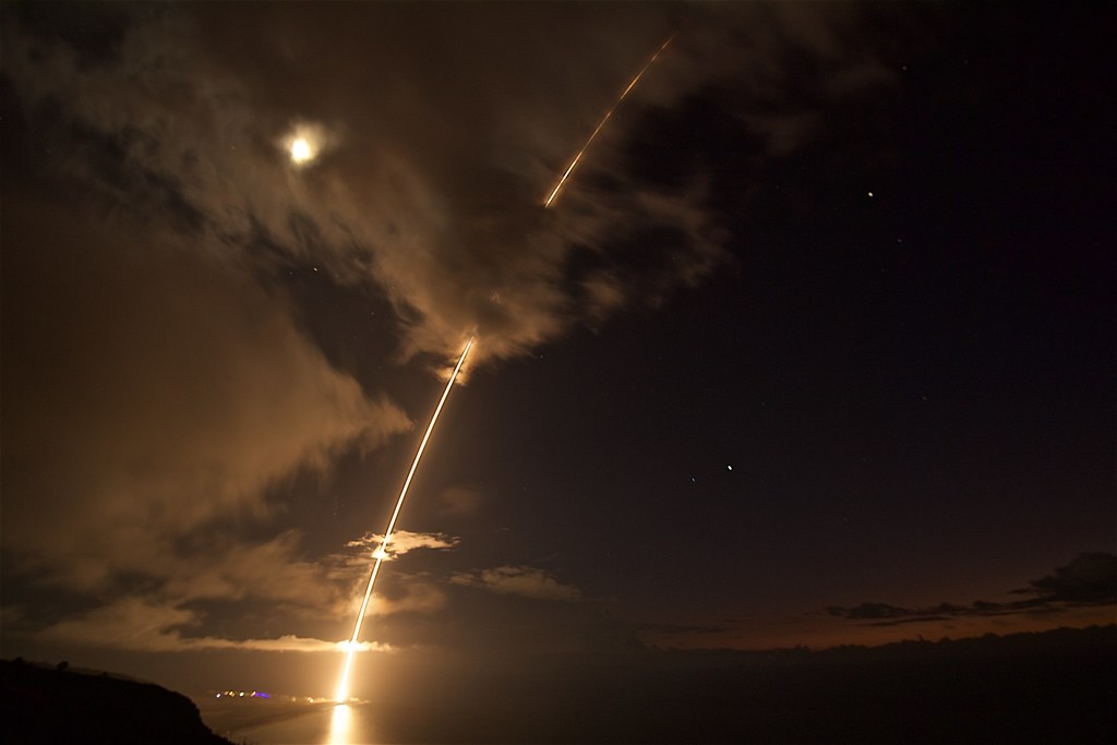 US Missile Defense Test Hits and a Miss