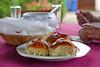 Zur Hausmannskost gehört auch Kuchen wie er früher im Dorf gebacken wurde