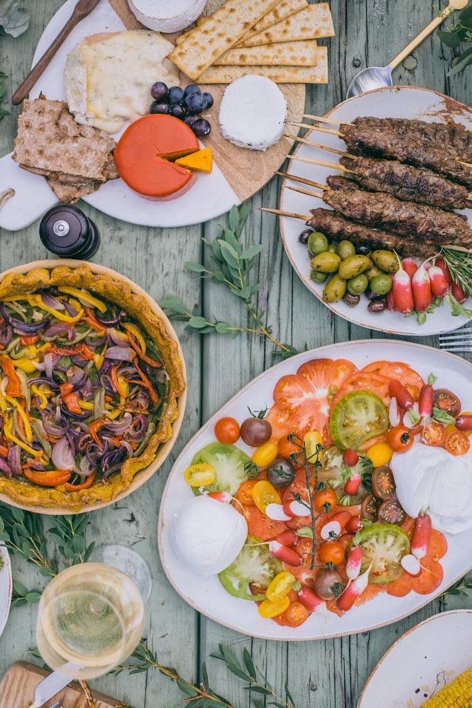 Kabab Koobideh with Mint Yoghurt & #FeastByThree