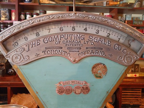 Computing Scale at Burnaby Village Museum