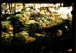 農業市場内