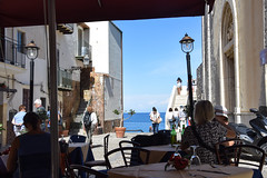 Lunch in Cefalu, Sicily