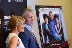 "Matt LeBlanc  & Kathleen Rose Perkins ""Episodes"" PaleyLive LA Event #Episodes #PaleyCenter"