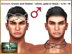 Bliensen - Dornen - Crown and Choker - M
