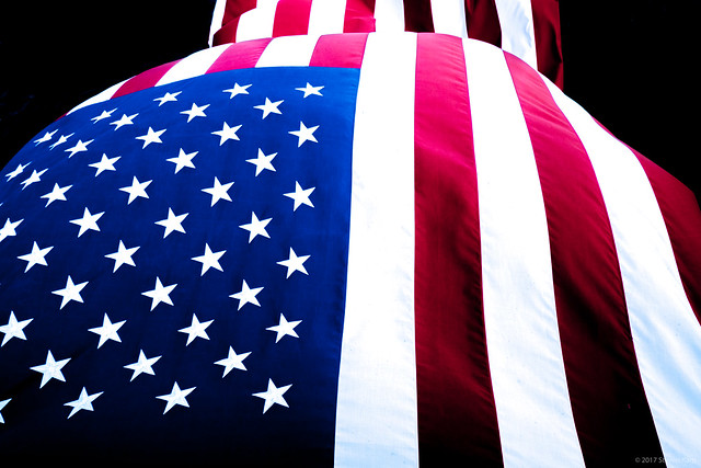 American Flag ©Steven Karp 2017, Fujifilm X-T2, XF10-24mmF4 R OIS