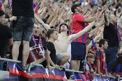 Steaua-Sporting, atmosfera