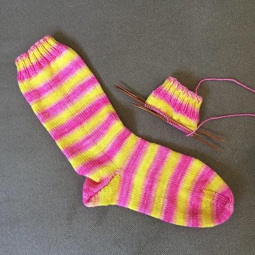 Pink Lemonade socks