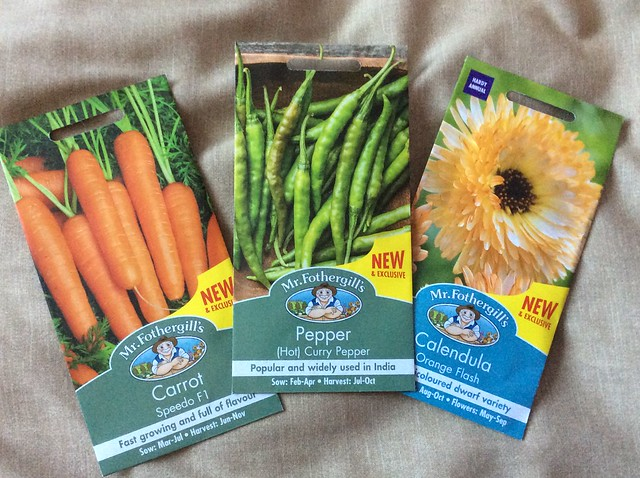 Mr Fothergill's new seed varieties